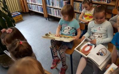 Mrówki w Miejskiej Bibliotece dziecięcej