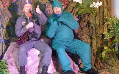 Spektakl Smok w wykonaniu Dziecięcego studia Teatralnego