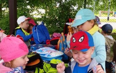 Wyjazd Motylków do Trzebieży z okazji Dnia Dziecka