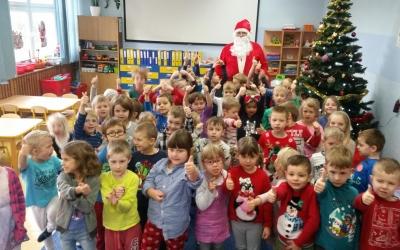 Mikołaj w Przedszkolu (Stonogi i Motylki)