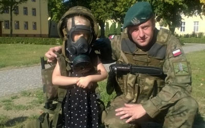 [Motylki][Stonogi] Wizyta w Jednostce Wojskowej